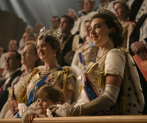 beauty, the crown netflix, and luxury image