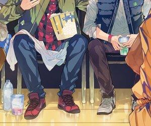 haikyuu and bokuto image