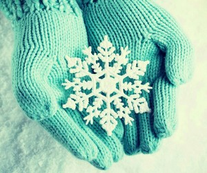 winter, snow, and snowflake image