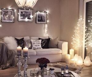 light, home, and christmas image