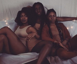beautiful, women, and black women image
