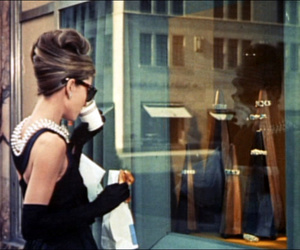 audrey hepburn and Breakfast at Tiffany's image
