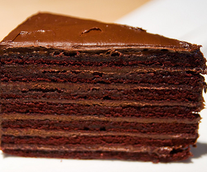 cake, choco, and chocolate image