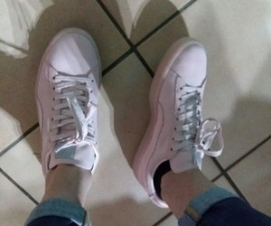 gift, pink, and shoes image