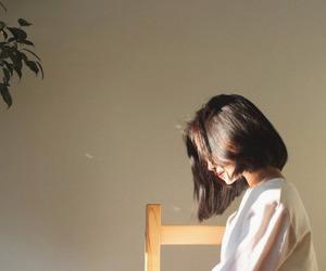 girl, ulzzang, and hair image