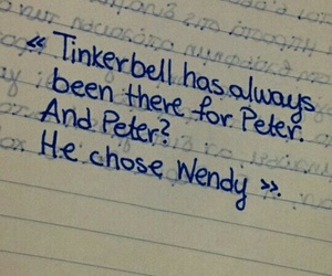 peter pan and tinkerbell image