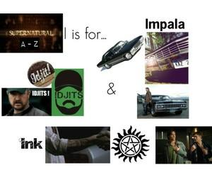 edit, impala, and supernatural image