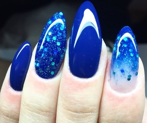 blue, fingers, and flawless image