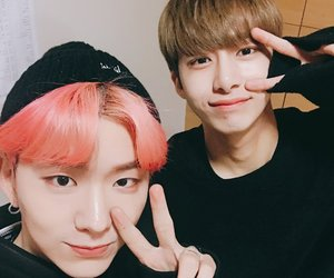 monsta x, kihyun, and hyungwon image
