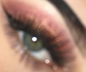 blurry, fleek, and eyebrows image