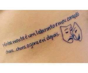 coracao, mente, and tatuagem image