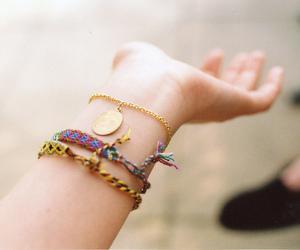 bracelet and vintage image