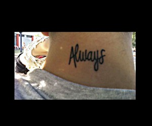always, tattoo, and cuello image