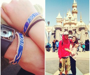 couple, disneyland, and cute image
