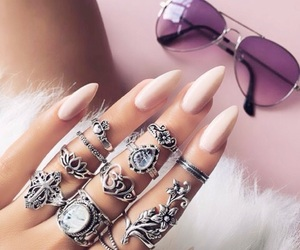 nails, accessories, and style image