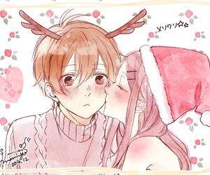 anime, christmas, and boy image