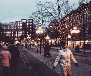 christmas, stockholm, and lights image