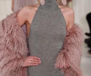 pink, grey, and dress image