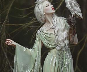 owl, fantasy, and magic image