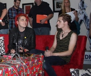 gerard way, mikey way, and mcr image
