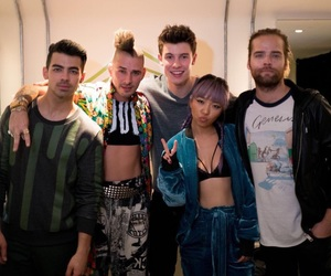 dnce and shawn mendes image