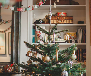 christmas tree, lovely, and cute image