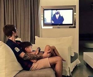 baby, tv, and justin bieber image