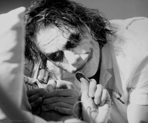 grunge, heath ledger, and joker image