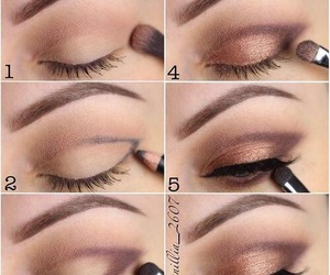 browns, eyebrows, and eyelashes image