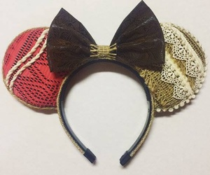 disney, ears, and minnie mouse image