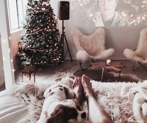 christmas, love, and cozy image
