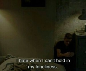 quotes, sad, and loneliness image