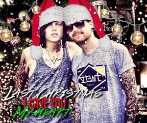 aesthetic, band, and christmas image