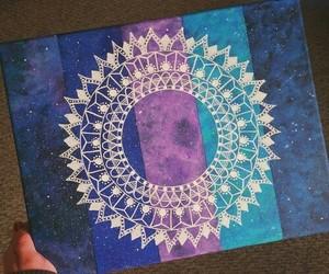 blue, colors, and madala image
