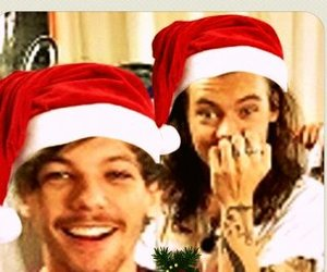 christmas, larry, and louis tomlinson image