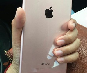 plus, rose gold, and iphone 7 image