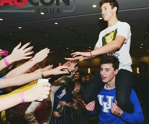 shawn mendes, cameron dallas, and magcon image