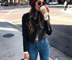 outfit, style, and coffee image