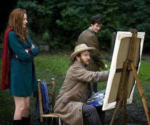doctor who, vincent van gogh, and amy pond image