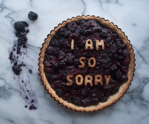 food and sorry image