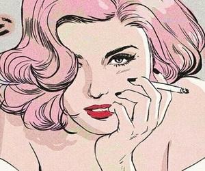 art, pop art, and comic image