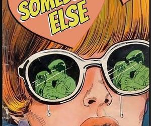 alternative, comic, and sad image