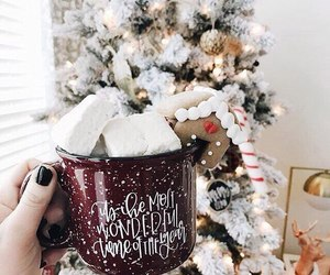 christmas, coffee, and december image