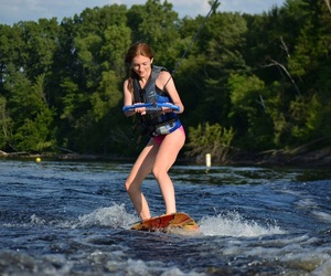 summer and wakeboarding image