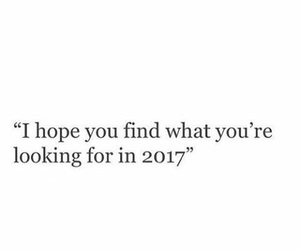 2017, quotes, and hope image