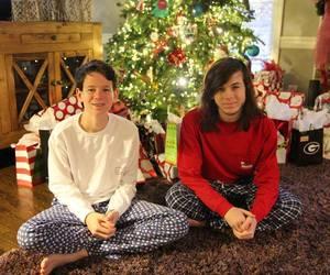 christmas, christmas tree, and the walking dead image