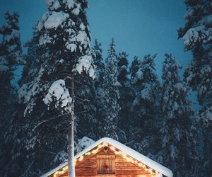 christmas, finland, and snow image