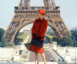 paris, fashion, and eiffel tower image