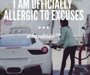 motivation and excuses image