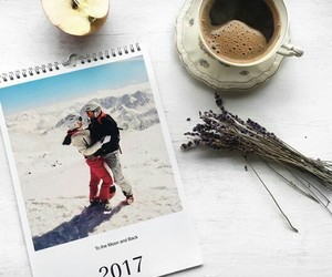 apple, coffe, and year2017 image